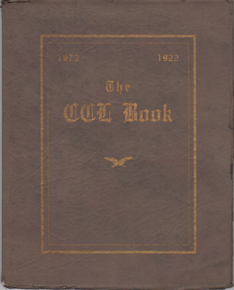 The CCL Book: 1672-1922, The Two Hundred and Fiftieth Anniversary Celebration of the Founding of Baltimore Yearly Meeting of Friends