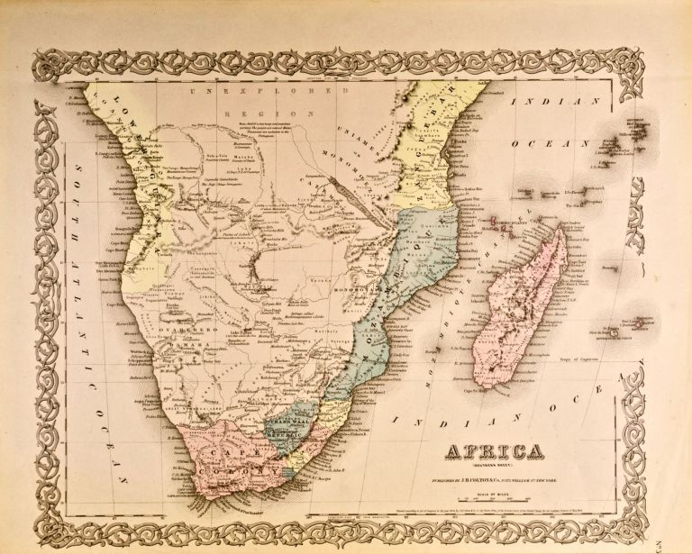 Africa: Southern Sheet [Map of]. J. H. Colton.