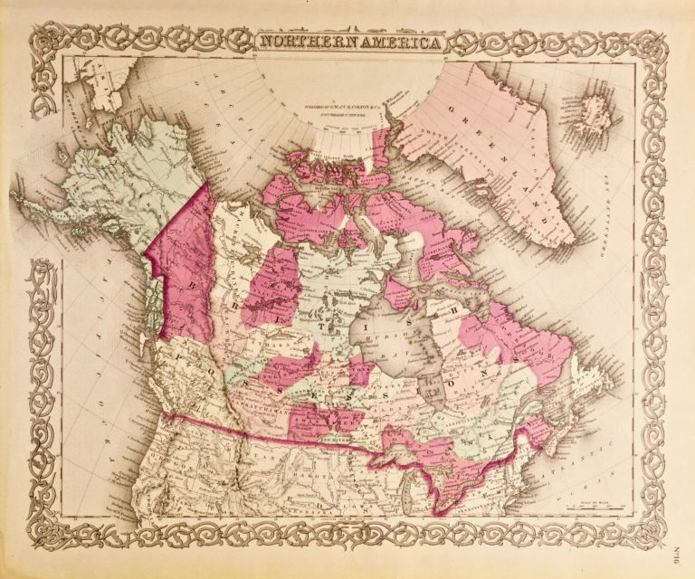 Northern America [Canada] [Map of]. G. W. Colton, C B.