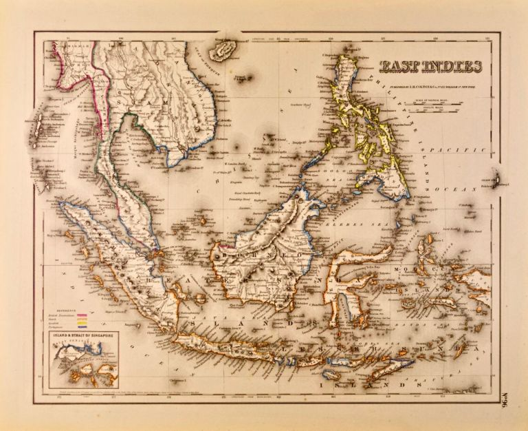East Indies [Map of]. J. H. Colton.