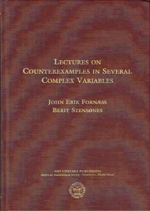 Lectures on Counterexamples In Several Complex Variables (AMS Chelsea Publishing). John Erik...