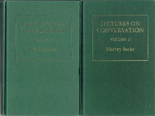 Lectures on Conversation [Volumes I & II