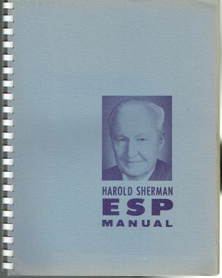 ESP Manual. Harold Sherman
