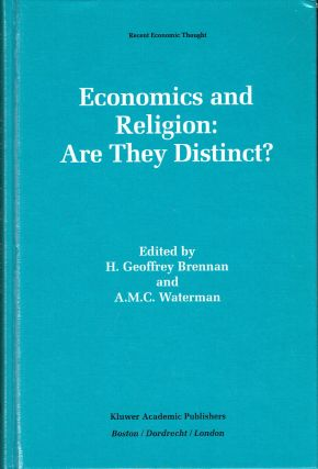 Economics and Religion : Are They Distinct? (Recent Economic Thought Series). H. Geoffrey...