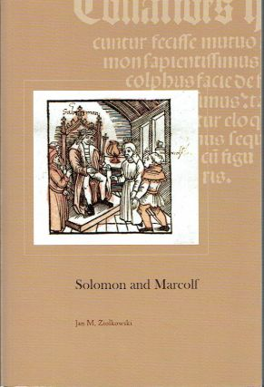 Solomon and Marcolf (Harvard Studies in Medieval Latin 1). Jan M. Ziolkowski