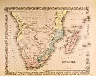 Africa: Southern Sheet [Map of]. J. H. Colton