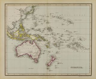Oceania [Map of